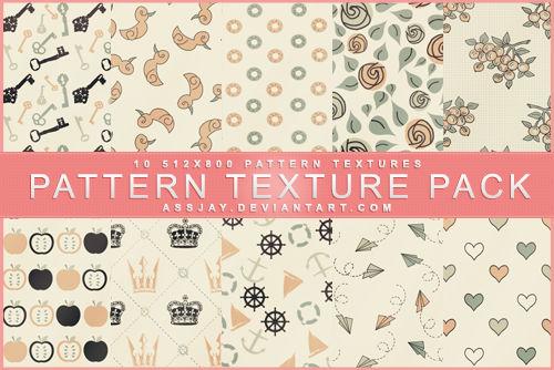 PATTERN TEXTURE PACK | ASSJAY