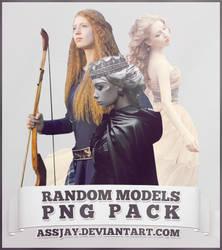 RANDOM MODELS PNG PACK | ASSJAY