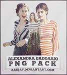 ALEXANDRA DADDARIO PNG PACK   ASSJAY