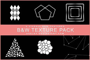 BLACK AND WHITE TEXTURE PACK | ASSJAY