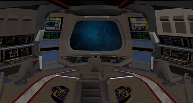 Defiant Bridge Obj 3d Model