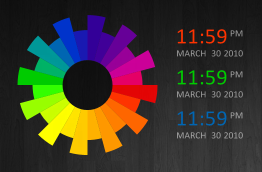 Color Wheel by r3ginald