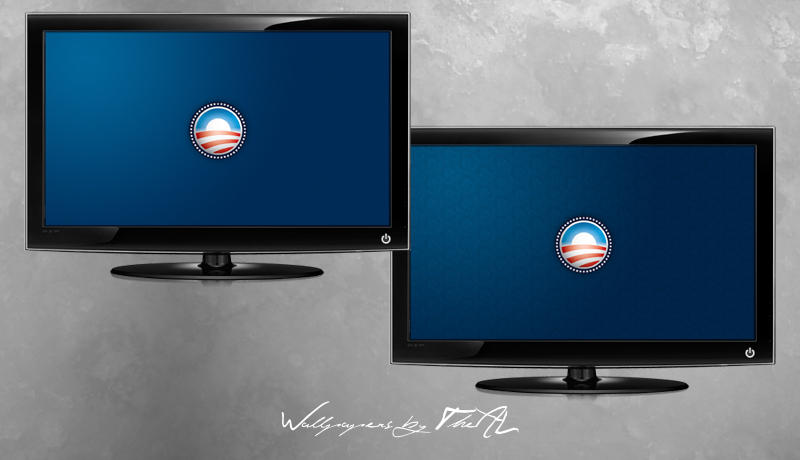 Obama Blue by TheAL