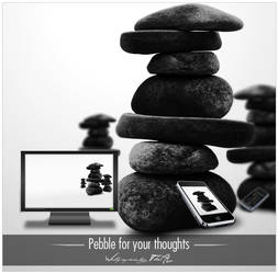 Pebble for your thoughts by TheAL
