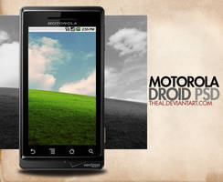 Motorola Droid PSD by TheAL