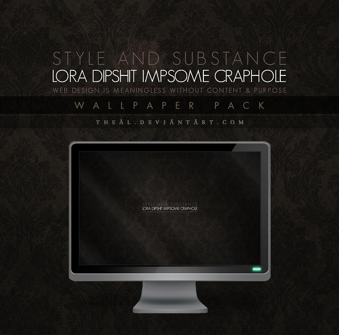 Lora Dipshit Impsome Craphole by TheAL