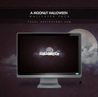 A Moonlit Halloween by TheAL