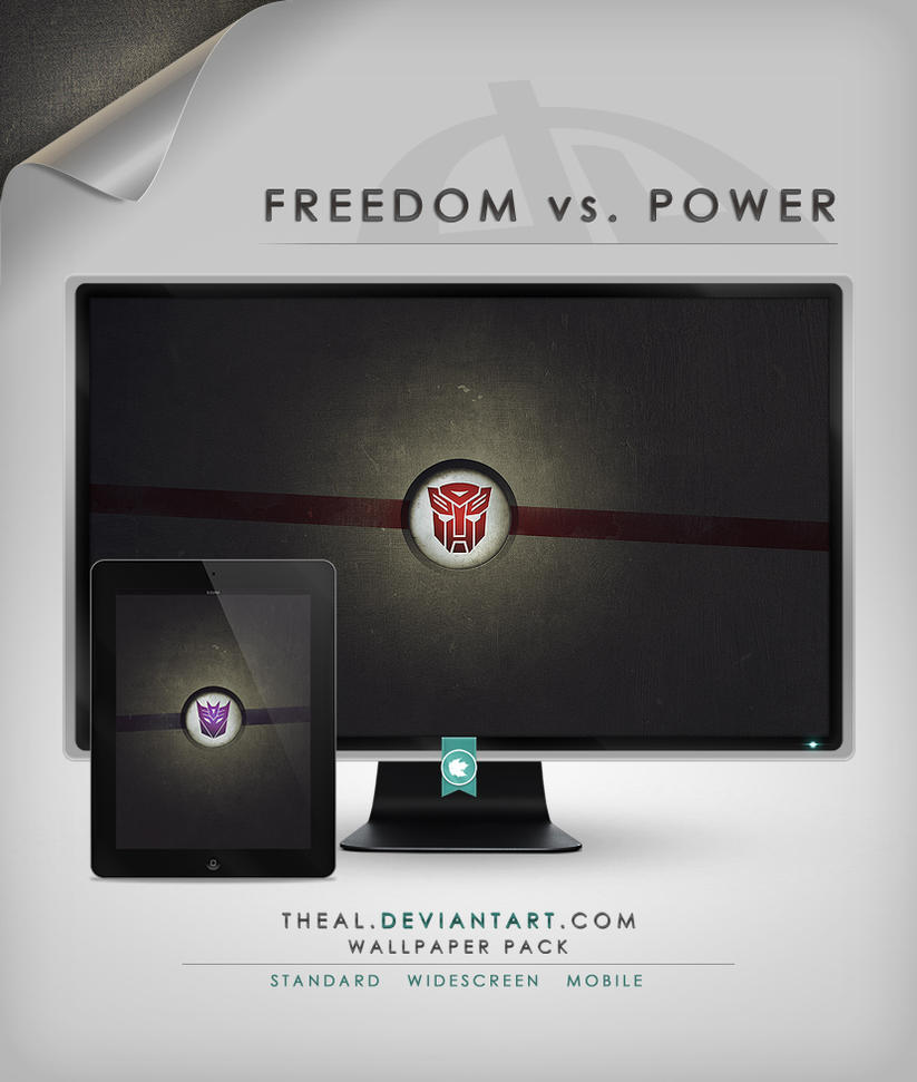 Transformers: Freedom vs Power by TheAL