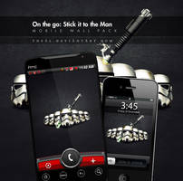 On the go: Stick it to the Man by TheAL