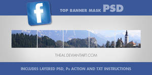 Facebook Top Banner PSD Kit