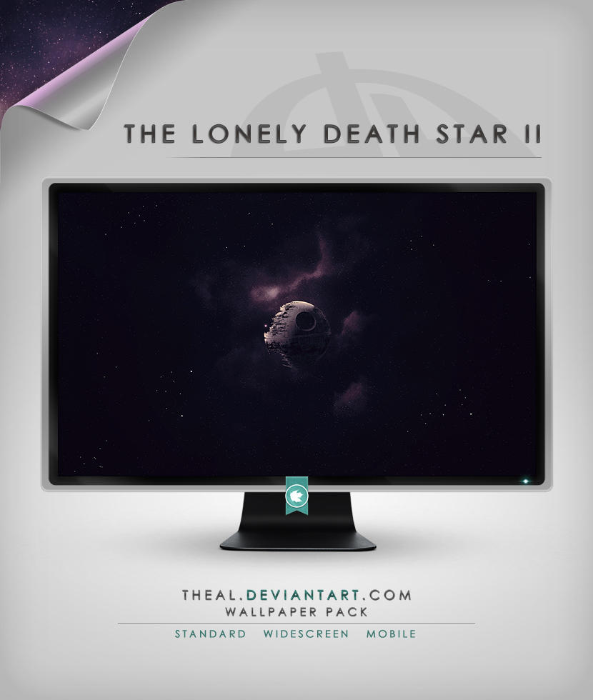 The Lonely Death Star II by TheAL