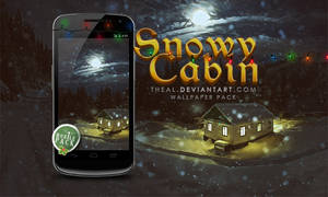 On the go: Snowy Cabin