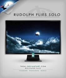 Rudolph Flies Solo