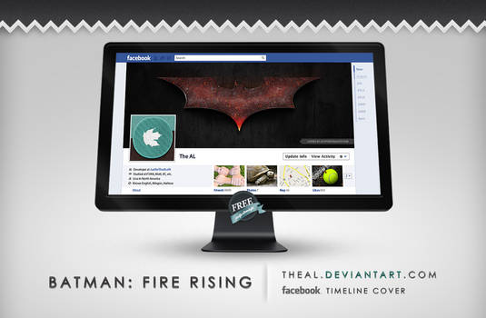 Batman Fire Rising Timeline Cover