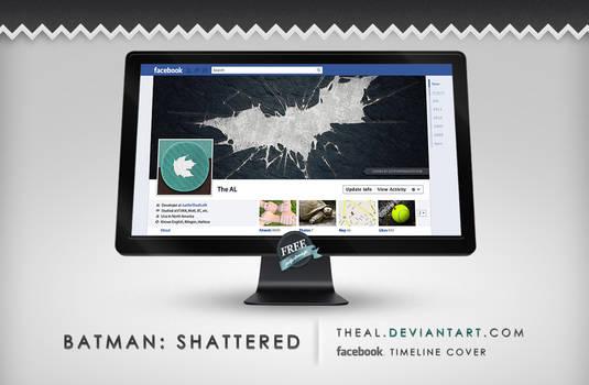 Batman Shattered Timeline Cover