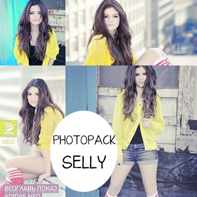 Selena Gomez PhotoPack ADIDAS NEO by MiliDirectionerJB