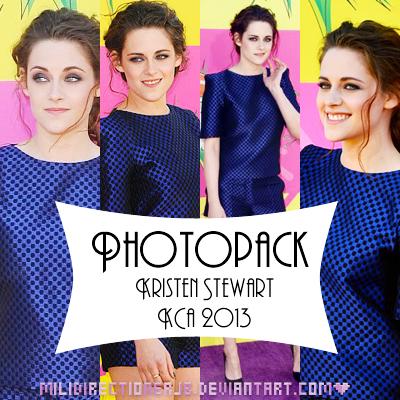 PhotoPack Kristen Stewart KCA 2013 by MiliDirectionerJB