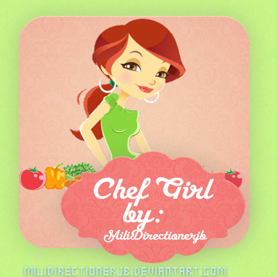 Chefgirl Png by MiliDirectionerJB