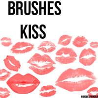Kiss Brushes by MiliDirectionerJB