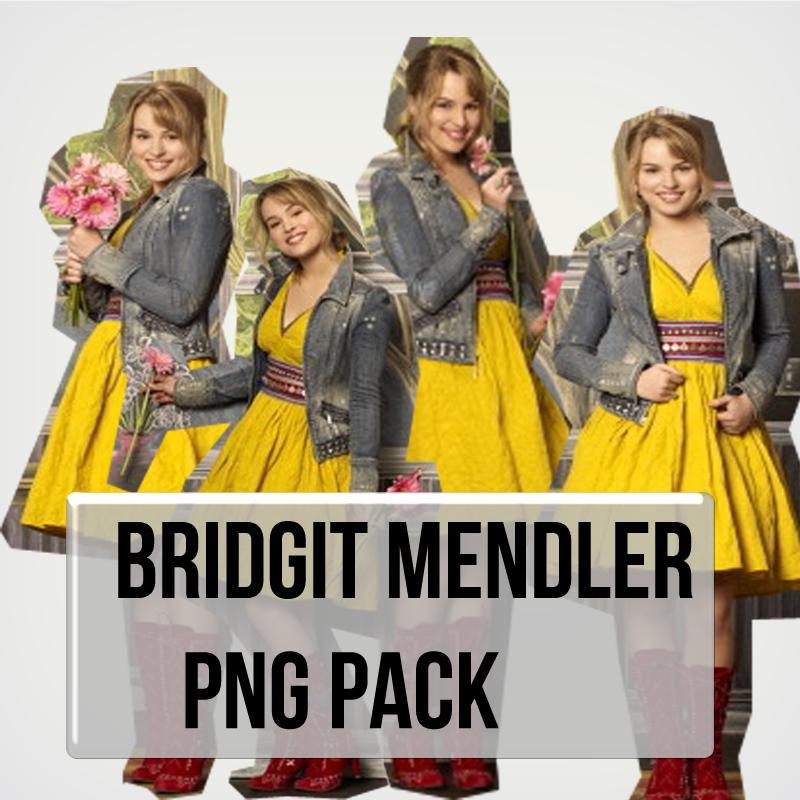 Bridgit Mendler Pack Png by MiliDirectionerJB