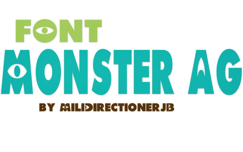 Font Monster AG by MiliDirectionerJB