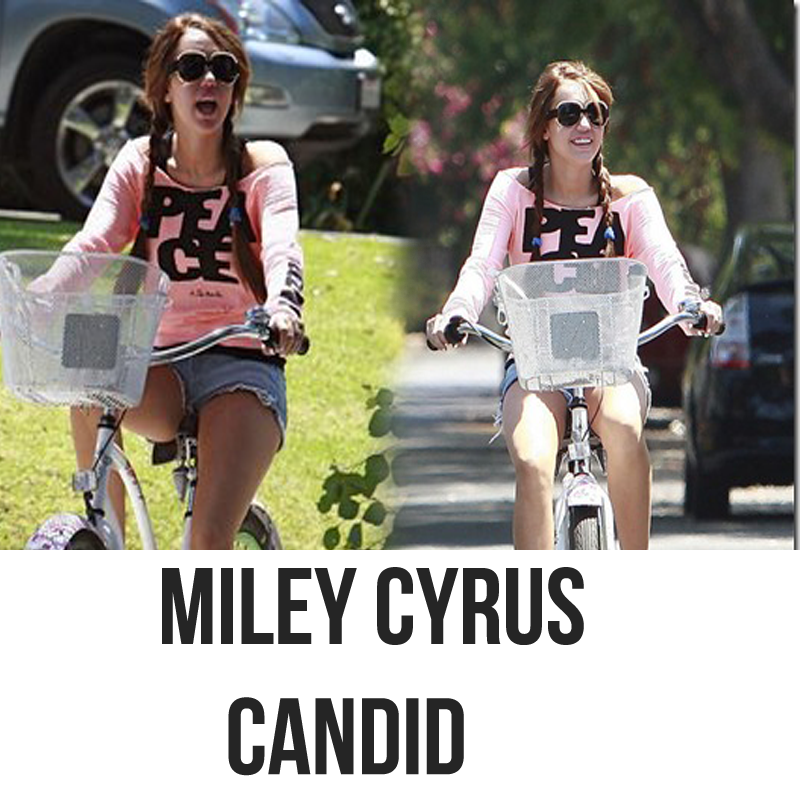 Miley Cyrus Candid by MiliDirectionerJB