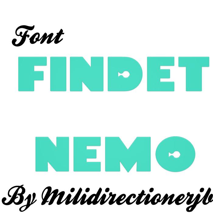 Font Findet Nemo by MiliDirectionerJB