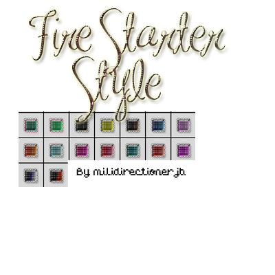 Fire Starter Styles by MiliDirectionerJB