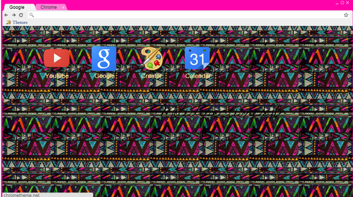 Tema para Google Chrome Indie by MiliDirectionerJB