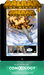 DALRAK THE MIGHTY ON COMIXOLOGY TODAY!