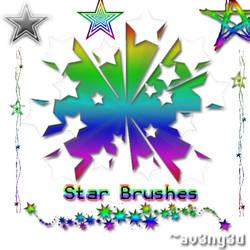 Star Brushes by aV3nG3d
