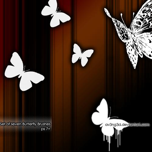 Butterfly Brushes by aV3nG3d