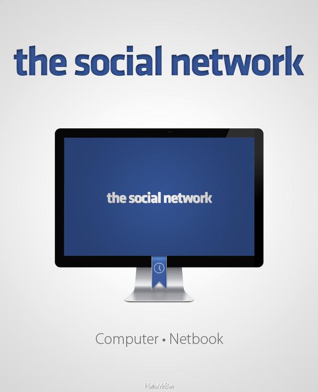 the social network Wallpaper by HelloMrBen on deviantART