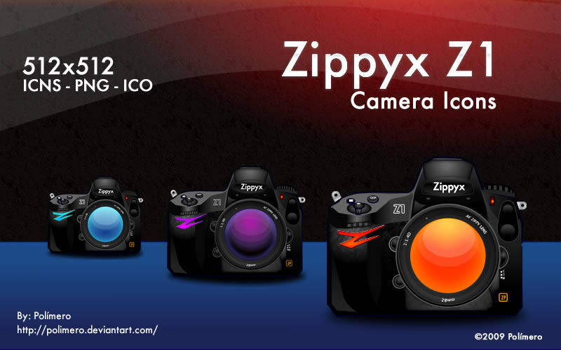 Zippyx Camera Icons