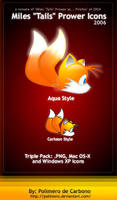 Miles Tails Prower Icons