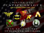 SilverAge Justice League Logos