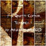 Graffiti Copper Texture Pack 1