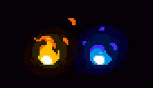 Small Flame Animations