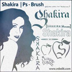 Shakira Brush Set