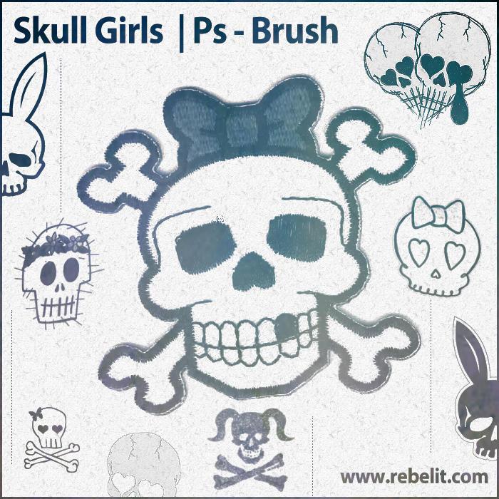 Skull Girls by alinema