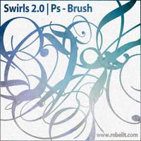 Swirls II by alinema