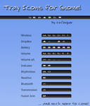 Tray Icons for Gnome v0.7 Dark