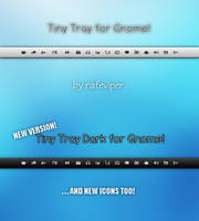 Tiny Tray for Gnome by rafeviper