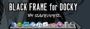 Black Frame for Docky