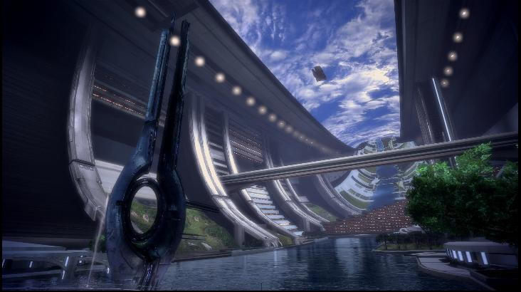 Mass Effect 1 Conduit Dreamscene by droot1986