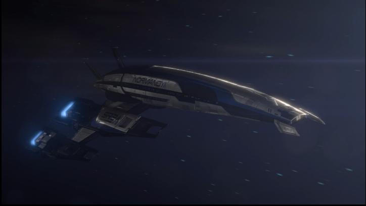 Mass Effect 3 Normandy Dreamscene by droot1986