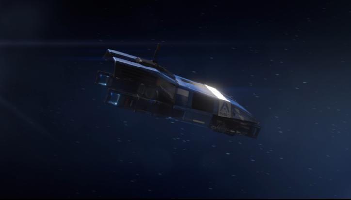 Mass Effect 3 Shuttle Dreamscene by droot1986