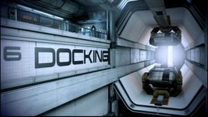 Mass Effect 3 Docking Bay Dreamscene