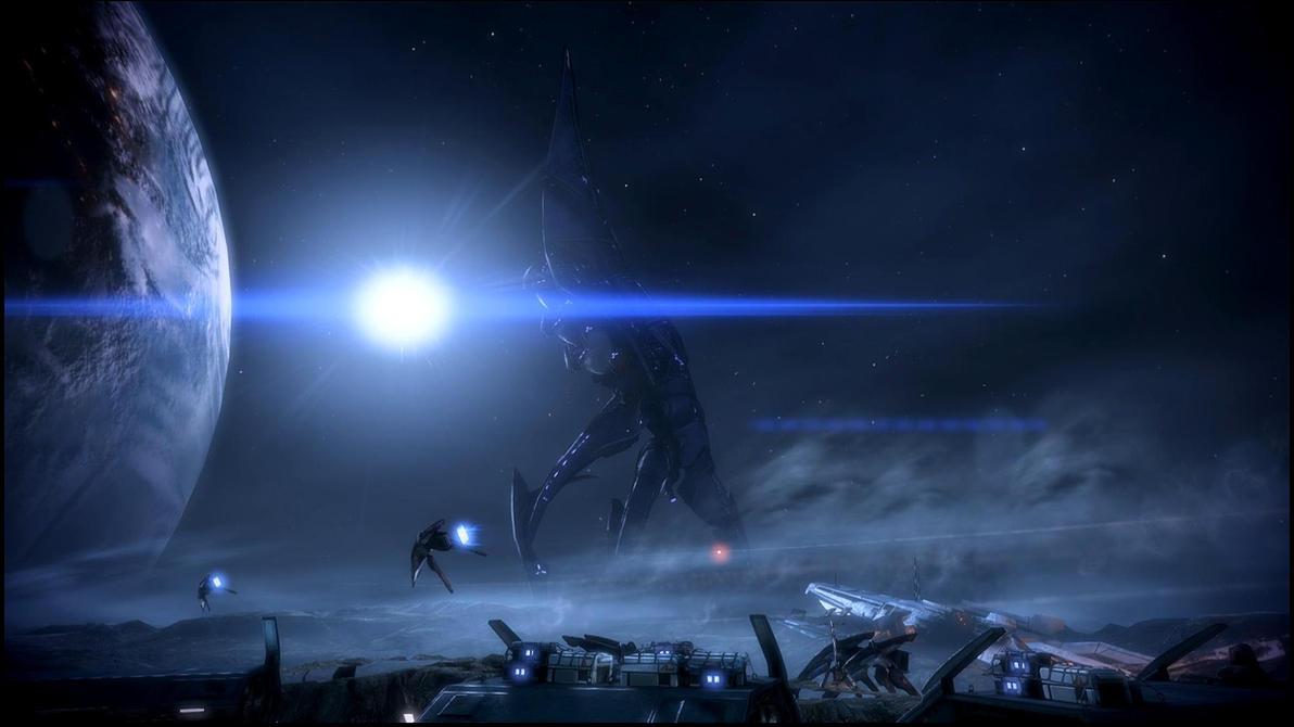 Mass Effect 3 Menae Dreamscene by droot1986