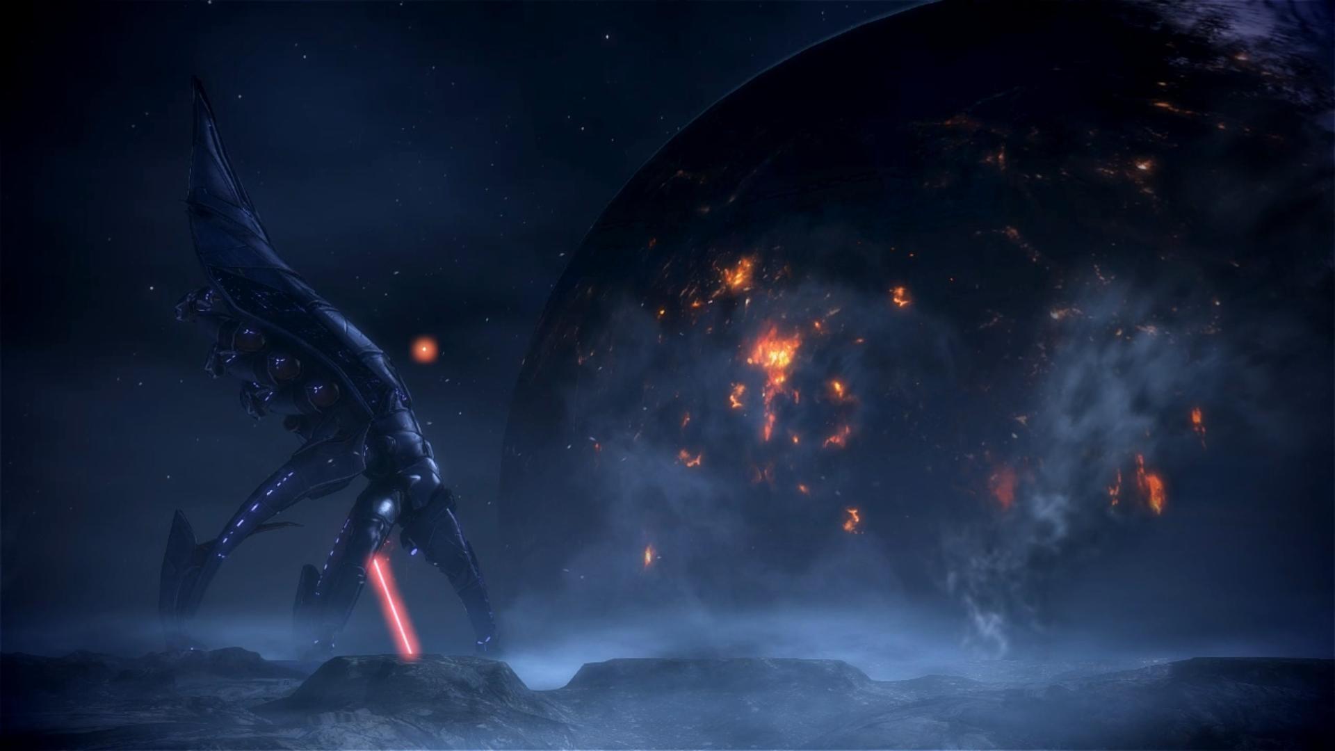 Mass Effect 3 Menae Dreamscene 02 by droot1986